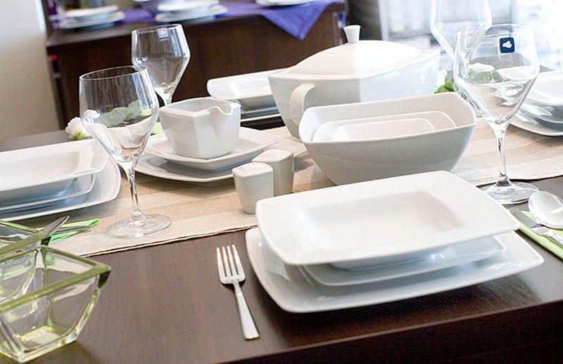 Lubiana Victoria Serwis Obiadowy Na 12 Osób 58 Elementów
